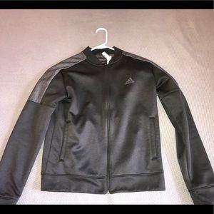 Adidas zipped up jacket M